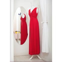 Vestido Knot Rojo