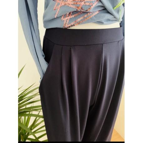 Pantalon Punto de seda Pinzas