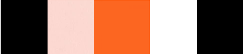 cuatricolor naranja